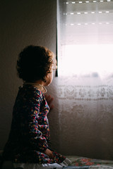 Waiting for her prince (bearepresa) Tags: city flowers light baby window girl kids canon eos 50mm reflex kid random f18 dslr 1100d bearepresa