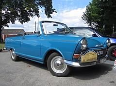 DKW F12 Convertible, 1964 (v8dub) Tags: auto old classic car automobile union convertible automotive voiture german f junior oldtimer 12 oldcar cabrio collector dkw autounion cabriolet wagen pkw klassik worldcars