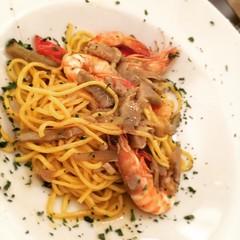 #visioni #cibo #food #mazzancolle #carciofi #cena (Alessandro Gaziano) Tags: square squareformat unknown iphoneography instagramapp uploaded:by=instagram foursquare:venue=51953032498ebff9352e4a52