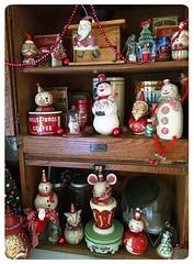 Celeste's-Photo-Johanna-Parker-Collection-Holiday-Hoosier (Johanna Parker Design) Tags: santa christmas decorations holiday mouse snowman folkart snowmen whimsical celeste hoosier johannaparker tammystrum collectorspotlight