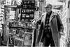 Diamond Geezer (mesonparticle) Tags: england blackandwhite bw man london english tattoo gold glasses camden camdenmarket streetphotography spectacles englishman sheepskin skinhead delboy englishrose westham diamondgeezer x100t topgunning