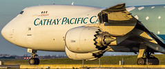 "Cathay Pacific cargo in Hongkong Trader livery taxiing to the departure runway • <a style=""font-size:0.8em;"" href=""http://www.flickr.com/photos/125767964@N08/15511072893/"" target=""_blank"">View on Flickr</a>"