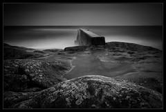 2 minutes... (stejo) Tags: longexposure seascape landscape pier rocks balticsea östersjön landsort vågbrytare öja ilobsterit