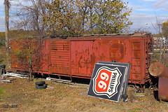 MPX 3425 - Boxcar at Poplar Bluff, MO (Mo-Pump) Tags: railroad train locomotive railfan railroader