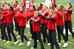 Panasonic FZ1000,  College Cheerleaders, McGill, Montréal, 18 October 2014 (148) (proacguy1) Tags: montréal mcgill collegecheerleaders panasonicfz1000 18october2014