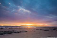 Santa Barbara Beach Sunset (BrendanBannister) Tags: santa sunset beach way stars point watertower reserve barbara oil coal milky sants
