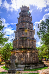 Thien Mu Pagoda (Xversion1) Tags: trip travel sky cloud architecture clouds may vietnam flare hue troi thienmupagoda huế thiên trời vân bầutrời thừathiênhuế thuathienhue kiếntrúc mây chùathiênmụ chuathienmu kientruc bautroi tphuế thapphuocduyen thiênmụpagoda thápphướcduyên chùalinhmụ chualinhmu thiênmụtemple