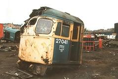 27041_Vic Berry's_09.04.89 (philwood55013) Tags: diesel loco 27 27041 vicberrys