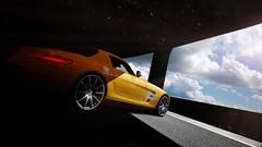Mercedes Benz SLS AMG (nbdesignz) Tags: 6 hot sexy cars beautiful beauty car digital photoshop mercedes benz edited sony gimp gran gt turismo v8 edit sls amg lightroom gt6 polyphony ps3 playstation3 photomode gtplanet nbdesignz