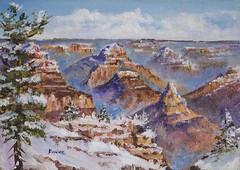 Original Oil - Grand Canyon (Bonnie Bowne) Tags: arizona painting landscape desert grandcanyon monumentvalley oilpainting
