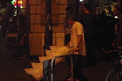 L'uomo del ghiaccio (Morgause666) Tags: night dark poland polska krakow nightshots kraków cracow nuit notte polonia cracovia cracovie pologne nightpics małopolska lesserpoland placnowy piccolapolonia stołecznekrólewskiemiastokraków voïvodiedepetitepologne