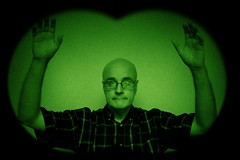 Night Vision (Leo Reynolds) Tags: night vision webthing photofunia xleol30x xxx2014xxx