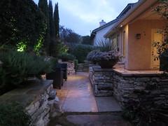 Garden oasis at dusk (Monceau) Tags: garden dusk oasis