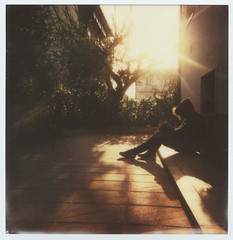 Home (La T / Tiziana Nanni) Tags: portrait film home portraits polaroid 600 analogue ritratti pola polaroid600 impossible shilouette analogic lightshadows pellicola analogico scannedfilm istantanea polaroidportrait iamyou tizianananni analogueportraits