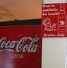 interesting juxtaposition (Peg Becks) Tags: signsofthetimes restaurantsigns haveadrink