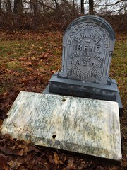 Emma Irene (ThePaperTyger) Tags: autumn cemeteries nature cemetery connecticut newengland newtown whitebronze