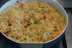 tomato rice recipe, south indian style tomato rice recipe-9