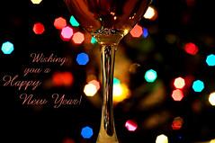 Happy New Year (chicadecasa) Tags: new glass lights wine bokeh year newyear newyearseve happynewyear 2015