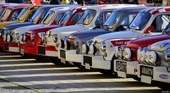 CLSSIC ABARTH BARCELONA 2014 (Renzopaso) Tags: barcelona auto classic race photo fiat seat picture racing historic retro 600 motor 500 31 motorsport abarth 2014 clasicos autoretro historicos autoretro2014