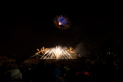 *** (Lee Ratters) Tags: bridge canon bristol 50mm suspension display anniversary f14 firework celebration clifton 150th 5dmk2