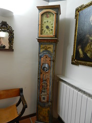 Reloj de pared Museo Palacio Pedro I Astudillo Palencia 02 (Rafael Gomez - http://micamara.es) Tags: reloj de pared mobiliario museo palacio pedro i astudillo palencia real monasterio santa clara clarisas