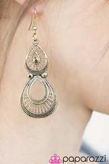 5th Avenue Brass Earrings K2 P5031-4