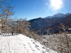 Hacia Pedabejo (lepotev) Tags: winter espaa snow mountains trekking spain nieve invierno senderismo pueblos cantabria picos montaas picosdeeuropa caminatas espinama pido libana cantabriainfinita