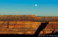 Moonrise at the Grand Canyon