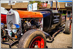 (177/365) Ford Hot Rod (RAT) at the South Meriden Car Show