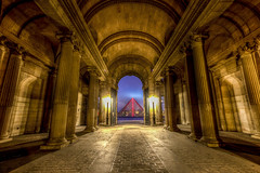 Musée du Louvre (Brandon Taoka) Tags: pwlandscape