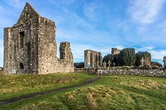 Newtown Abbey lies on the banks of the Boyne about 15min walk from Trim Castle REF-100799 (infomatique) Tags: christmas ireland december sony religion historic trim touristattraction christmasday 2014 countymeath newtownabbey williammurphy infomatique nex7 newtownabbeytrim2014infomatique