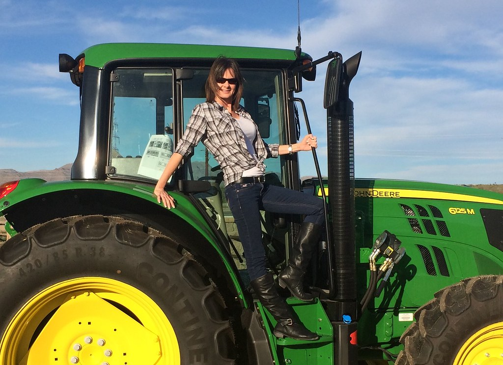 John Deere Girls : The world s newest photos of girls and tractor flickr