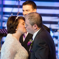 You may kiss the bride (richardcorbettphotographer) Tags: wedding kiss marriage firstkiss