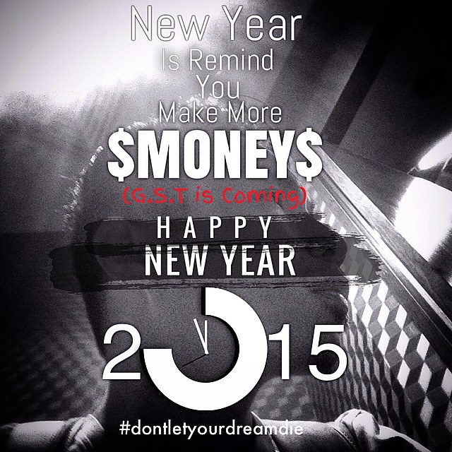 Criosly Yes, money cant buy happiness; but its more comfortable to suffer in a BMW than on a bicycle...Make more Money...Happy New Year #dontletyourdreamdie #itsv #quotes #happynewyear2015 #money #party