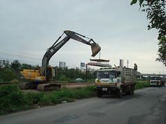 Thailand - Chiang Mai - Renovation time (railasia) Tags: thailand construction chiangmai infra srt 2013