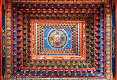 Decorated Ceiling, Upper Pisang Monastery, Annapurna Circuit, Nepal (Feng Wei Photography) Tags: travel nepal color art beautiful horizontal temple colorful asia buddhism indoor ceiling monastery tibetan remote decorate annapurnacircuit annapurna pisang tibetanbuddhism gandaki upperpisang annapurnaconservationarea