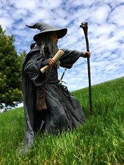 I Can Sing the Wind to Sleep and Calm a Storm for Long Enough to Bring a Ship to Shore (Geek Creek) Tags: toys actionfigures gandalf lordoftherings tolkien jrrtolkien thehobbit neca toyphotography gandalfthegrey necagandalf