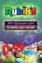 Rubiks Cube _ Easter Sale Ad (lezumbalaberenjena) Tags: art ads corporate design marketing video media graphic social games images cube branding rubiks logotype magmic