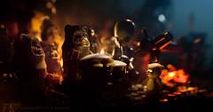 The Ewok Jam (Avanaut) Tags: music toy starwars lego ewok minifig jam originality minifigure endor figrindan modalnodes toyphotography smallscenesfromabiggalaxy