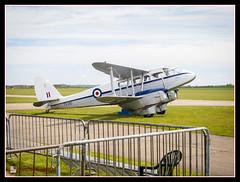 IWM Duxford de Havilland Dragon Rapide (cscarlet41) Tags: lumix device panasonic digitalcamera imperialwarmuseum iwm duxfordaerodrome dmcg5