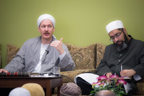 "Shaykh Yahya Rhodus at SeekersHub, Toronto and Seminar Series: Worship, Coffee and The Meaning of Life • <a style=""font-size:0.8em;"" href=""http://www.flickr.com/photos/88425658@N03/26567033440/"" target=""_blank"">View on Flickr</a>"