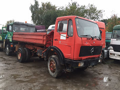 MB NG Kipper (Vehicle Tim) Tags: truck mercedes tipper kipper oldtimer ng mb fahrzeug lkw
