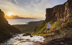 Sound Of Rum (RobGrahamPhotography) Tags: sunset cliff mountain mountains canon landscape island scotland landscapes innerhebrides britain outdoor rum eigg smallisles cleadale canon6d soundofrum