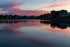 Canale candiano (giucip2011) Tags: sunset colors canale ravenna candiano canalecandiano