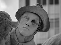 Soldiers and Sailors Monument (JY_Photos) Tags: blackandwhite bw usa monument monochrome indianapolis indiana olympus limestone hdr solider soldiersandsailorsmonument mft dxooptics jyphotos micro43 microfourthirds machineryhdr 1240mmf28pro mzuikoed1240mmf28pro omdem5markii