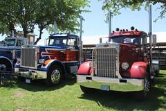 IMG_2776 (RyanP77) Tags: show california b white truck log model shiny trucker international chevy chrome r pete logger gmc peerless kw peterbilt ih kenworth cabover bullnose fruehauf