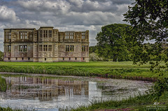 Reflecting on what could have been at Lyveden (copyright:- Michael J Loveder) Tags: lyveden michaelloveder