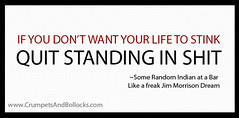 Quit standing in shit (megforce1) Tags: life inspiration funny quote humor meme quotes shit motivation inspirational memes motivational wordstoliveby