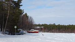 Lake Inari (Soresha) Tags: snow boat frozenlake