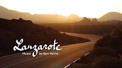 Lanzarote - Ben Heine Music (Ben Heine) Tags: sunset music sun moon mountains film rock lune volcano lava evening spain guitar rocky lanzarote sunrays eruptions volcanic lunar canaryislands magma lave spanishstyle musicclip benheinemusic